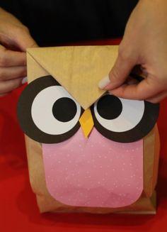 Aprenda a fazer um saco decorado para lembrancinha de aniversário