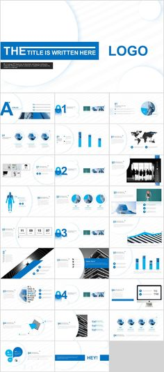 27+ Blue creative charts PowerPoint template #powerpoint #templates #presentation #animation #backgrounds #pptwork.com#annual#report #business #company #design #creative #slide #infographic #chart #themes #ppt #pptx#slideshow#keynote