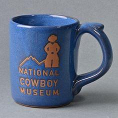 National Cowboy Museum Denim Stoneware Mug