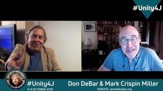 Don DeBar and Mark Crispin Miller discuss . The Unit