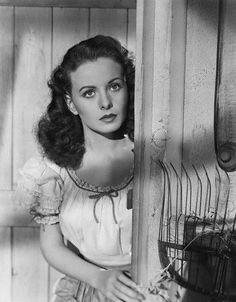 The beautiful Jeanne Crain.