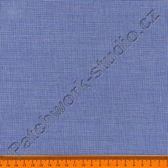 LÁTKY - metráž   modrá   53100-7   Patchwork-studio