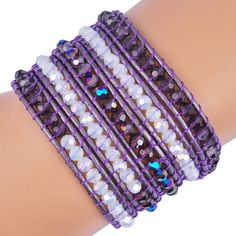 Chanluu beaded bracelets,gemstone beads bracelets,men bracelet. LOVE THIS