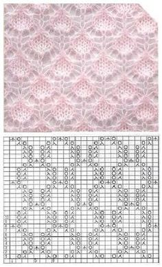 283 × 466 Pixel 283 × 466 Pixel , History of Knitting Yarn. Lace Knitting Stitches, Lace Knitting Patterns, Knitting Charts, Lace Patterns, Knitting Yarn, Hand Knitting, Stitch Patterns, Gilet Crochet, Points