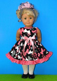 18 Inch Doll Clothing for American Girl Dolls via alenahandmadegifts @ Etsy
