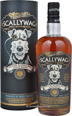 Scallywag is a multi award-winning Speyside Malt Scotch Whisky. It's created using only the finest Speyside Malts including Mortlach, Macallan and Glenrothes. A specialist and small batch Whisky . Best Rye Whiskey, Cigars And Whiskey, Scotch Whiskey, Bourbon Whiskey, Whiskey Bottle, Rum, Blended Whisky, Single Malt Whisky, In Vino Veritas