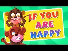 Telugu Padyalu: If You Are Happy  Nursery Rhymes Songs For Childre...