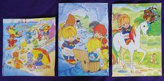 Vintage 'Rainbow Brite' pages from book / Paginas de libro 'Rainbow Brite'   Flickr - Photo Sharing!
