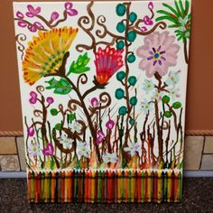 Crayon art by claire