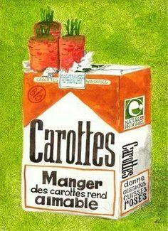 Manger des carottes rend aimable