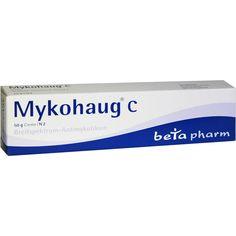 MYKOHAUG C Creme:   Packungsinhalt: 50 g Creme PZN: 03821281 Hersteller: betapharm Arzneimittel GmbH Preis: 3,30 EUR inkl. 19 % MwSt.…