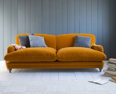 Unbelievably comfortable and sumptuous sofas
