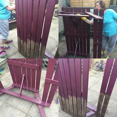 @djjamberrynails Mine and Dawn's project of the bank holiday! Our beautiful purple picnic bench  #jamberry #becauseofjamberry #nathanispurpleobsessed