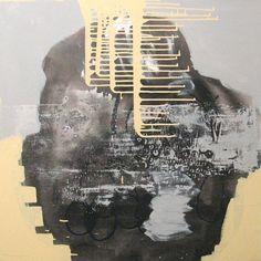Original Painting Large Abstract Mixed Media Acrylic by AisyahAng, $450.00
