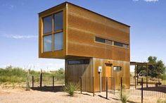 Modelo arquitectónico presentado a un concurso en Estados Unidos