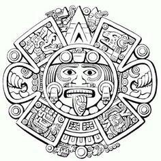 Resultado de imagen para CALENDARIO AZTECA