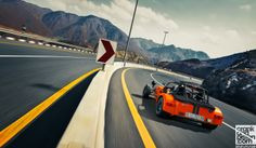 Caterham Superlight R400. Arming the weapon