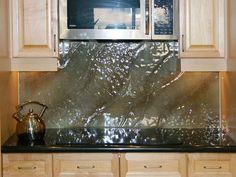 Shown With U201csandstormu201d Texture, U201cantiqueu201d Color. Custom Glass, Kitchen ...