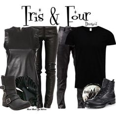 wearwhatyouwatch: Inspired by Shailene Woodley & Theo James as Tris & Four in Divergent - Shopping info! Divergent Costume, Divergent Outfits, Divergent Fashion, Divergent Dauntless, Divergent Fandom, Divergent Series, Fandom Outfits, Divergent Quotes, Divergent Cosplay