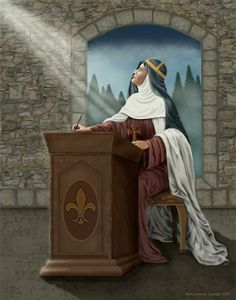 St Bridgit of Sweden -Married and had eight children. Devoted wife and mother. After her husband died she lived ascetic life in the world as member of the Third Order of St. Francis. Founded a religious order- Wrote many books about her mystical experiences- Feast Day July 23