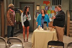 """Mike and Molly scenes 