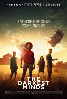 Skylan Brooks, Amandla Stenberg, Harris Dickinson, and Miya Cech in The Darkest Minds Tv Series Online, Movies Online, Movies Showing, Movies And Tv Shows, The Darkest Minds Movie, Movies To Watch, Good Movies, Stranger Things, Harris Dickinson