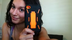 Review for Black Tangelo Orange Tough Case for iPod 4/4s myLife Brand Pr...