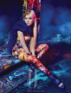 2NE1 CL - W Magazine April Issue