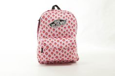 PLECAK VANS REALM BACKPACK - (Strawberries) Pastel - Buty VANS,sklep,plecaki,authentic,bluzy,koszulki,czapki-oficjalny sklep internetowy damskie męskie+akcesoria Vans