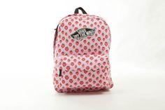 PLECAK VANS REALM BACKPACK - (Strawberries) Pastel - Buty VANS,sklep,plecaki,authentic,bluzy,koszulki,czapki-oficjalny sklep internetowy damskie męskie+akcesoria Vans