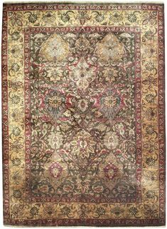 New Contemporary Indian Agra Area Rug 57334 - Contemporary Area Rugs, Rectangular Rugs, Agra, Colorful Backgrounds, Bohemian Rug, Indian, Modern Rugs