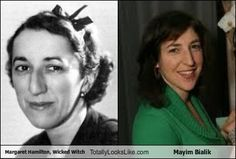 Margaret Hamilton, Wicked Witch  Totally Looks Like Mayim Bialik