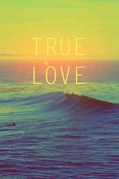 Love at first wave <3