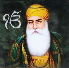 Dhan Dhan Sri Guru Nanak Dev Ji  (Reprinted on Paper - Unframed)