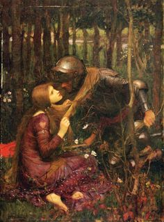 "laprimevere: ""John William Waterhouse, La Belle Dame Sans Merci, Oil on canvas. John William Waterhouse, Renaissance Kunst, Renaissance Paintings, Italian Renaissance, Pulp Fiction, John Keats, Women In Greek Mythology, Michael Lang, Pre Raphaelite Paintings"