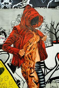 Urban Cake Lady, Pastemoderism,  Outpost Project, Cockatoo Island, Australia
