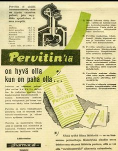 Retro Ads, Vintage Ads, Old Commercials, Magazine Articles, Old Ads, Sisal, Old Pictures, Album Covers, Finland