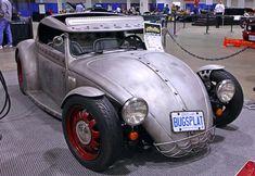 Vw Rat Rod, Rat Rods, Volkswagen, Custom Muscle Cars, Custom Cars, Wv Car, Vw Bugs, Vw Beetles, Cars And Motorcycles
