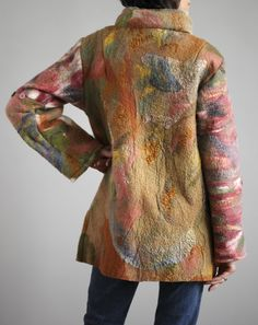Image Detail for - Ninas Fiber Arts - One of a kind, hand made felted clothing, interior ...