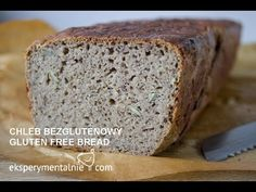 Chleb bezglutenowy ze sklepu jest niesmaczny, dlatego warto piec swój chleb, który jest o niebo smaczniejszy i szybko sie go robi, Polecam spróbować. Gluten Free Recipes, Healthy Recipes, Fodmap Diet, Bread Rolls, Free Food, Banana Bread, Salsa, Food And Drink, Low Carb