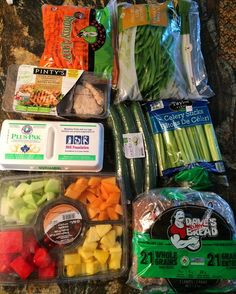 Restocked on some healthy staples to make sure we keep the junk to a minimum this weekend!