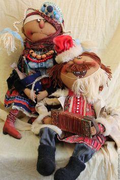 Коллекционные куклы ручной работы. Ярмарка Мастеров - ручная работа. Купить Весило-весило встретим Новый год!.... Handmade. Комбинированный