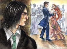 Harry Potter - Severus Snape & Lily Evans x James Potter