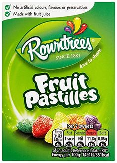 Rowntree's Fruit Pastilles, 9 Pack Rowntree's https://www.amazon.co.uk/dp/B003S9WPNU/ref=cm_sw_r_pi_dp_x_v90Pxb7PX1E46