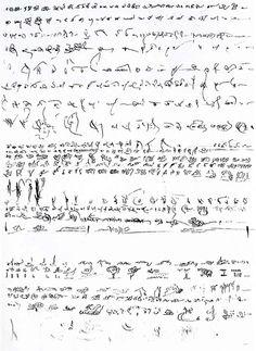 Henri Michaux | Alphabet