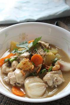 Azie Kitchen: Stew Ayam Cara Tengku Puan Pahang