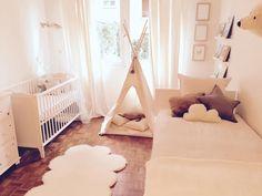Brother and sister bedroom, Kid bedroom, White, Beige, Shared bedroom