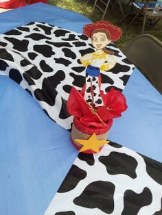 Liz's Party Designs *'s Birthday / Toy Story Woody and Jessie - Photo Gallery at Catch My Party Toy Story Theme, Toy Story Party, Toy Story Birthday, Rodeo Birthday, Twin Birthday Parties, 2nd Birthday, Woody And Jessie, Jessie Toy Story, Cumple Toy Story