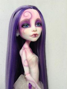 "OOAK Monster High Artist Repaint Custom Art Doll ""Alexandra""by Lisa   eBay"
