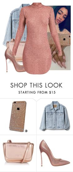 """""""Dolce"""" by anariebreezy ❤ liked on Polyvore featuring Gap, Liebeskind and Casadei"""